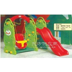 三合一多功能小象滑梯 兒童滑梯圖片