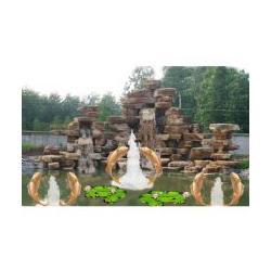 仿古园林工程-淄博园林工程-大自然景观图片