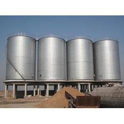 优质钢板仓采购、钢板仓、安阳利浦钢板仓图片
