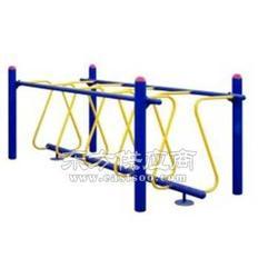 小区健身器材呼啦桥图片