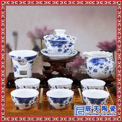 定做白瓷陶瓷茶具图片
