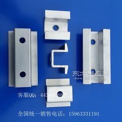 铝合金压块配套螺母 太阳能新能源压块图片
