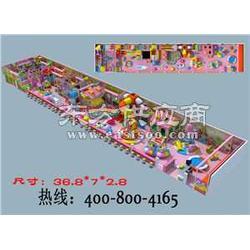 百货商场开一个中型儿童乐园多大平淘气堡设备报价图片