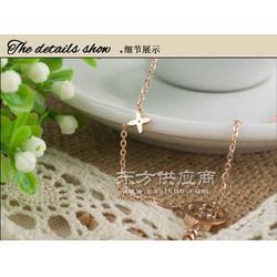 玫瑰金项链 饰品 钛钢项链 饰品网图片