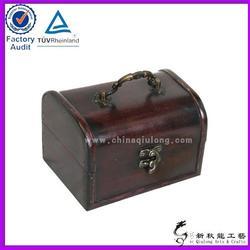 木制酒盒定制-新秋龙工艺品(已认证)木制酒盒定制图片
