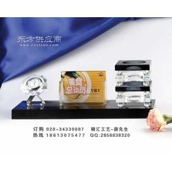 酒店剪彩仪式礼品制作 酒店开业揭牌仪式水晶礼品图片