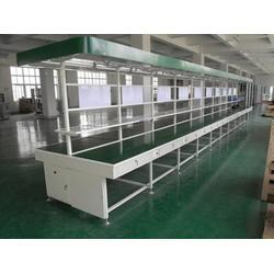 清远流水线-宏信达工业设备有限公司-绿色PVC传送带流水线图片