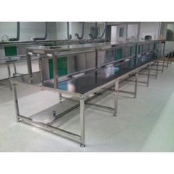 宏信达工业设备、(图)、广州车间不锈钢工作台、不锈钢工作台图片