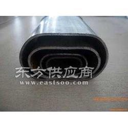 道路护栏热镀锌平椭圆管生产厂家图片