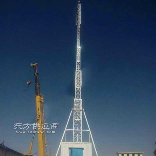 30米避雷塔gfw钢结构避雷针塔