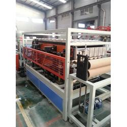 新型合成树脂瓦设备_威尔塑料机械(在线咨询)_合成树脂瓦设备图片