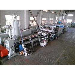 收纳箱格子板生产线-格子板生产线-威尔塑料机械图片