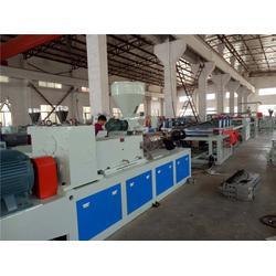 建筑模板生产线技术(配方)威尔塑料-建筑模板生产线图片