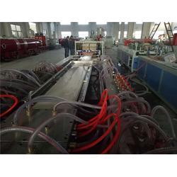 PVC木塑墙面生产线_威尔塑料(在线咨询)_木塑墙面生产线图片