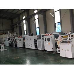 围箱板格子板设备厂家、威尔塑料(在线咨询)、格子板设备厂家图片