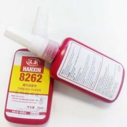 热销厌氧螺纹锁固剂,螺纹胶8262,汉新8262螺丝胶图片