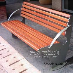 步行街休闲座椅 商业街休闲座椅 景区长条椅厂家图片