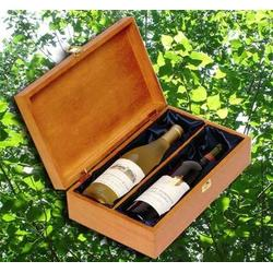 红酒礼盒木盒,红酒礼盒木盒,桐鑫源图片