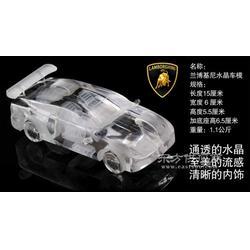 水晶汽车模型水晶货车汽车纪念品4s店礼品图片