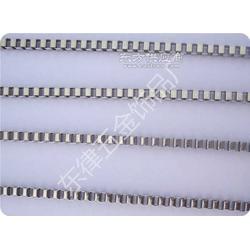 厂家供应各种规格优质不锈钢饰品盒子链条链图片