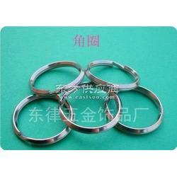 供应不锈钢角圈钥匙圈生产厂家图片