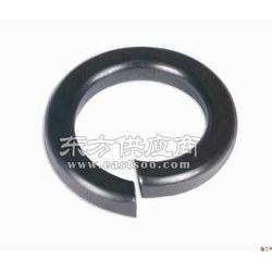 8级高强度弹垫 弹簧垫圈 黑色弹片 弹性开口垫圈图片