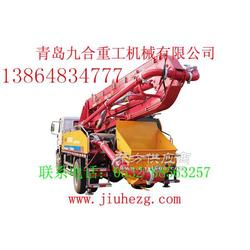 21米小型混凝土泵车JH5021图片
