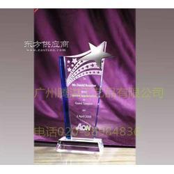 节日水晶奖杯图片