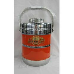 创贤仕双层不锈钢提桶304不锈钢2.0L保温桶图片