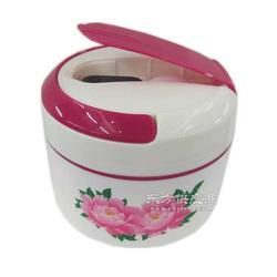 新款陶瓷保温饭盒时尚便捷手提便当盒图片