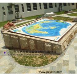 厂家直销 地理园教学模型 凹凸大型世界地形图模型图片