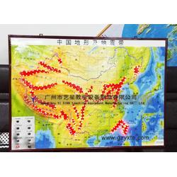 地理室教学仪器 地震科普模型 中国地震带分布图模型图片