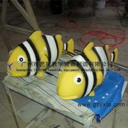 艺星教学 供应喷水卡通鱼雕塑 儿童乐园海洋生物装饰 各种深海动物模型定做图片
