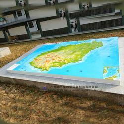 厂家直供 地形图模型 各省市地形图 地理园教学仪器图片