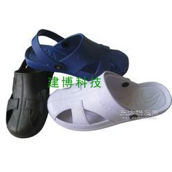防静电凉鞋 劳保鞋防护鞋 PU洁净鞋图片