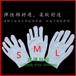 幼儿白手套 六一儿童节目表演手套白色透气长期供应图片