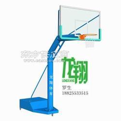 单臂圆管移动篮球架图片