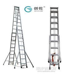 创乾CQS铝合金伸缩梯工程人字梯图片