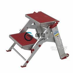 创乾CQV美式踏台铝合金梯小巨人折叠踏台图片