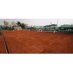 松凡网球场施工材料图片