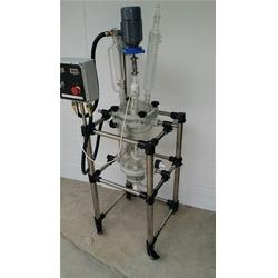 双层玻璃反应釜购买,承德双层玻璃反应釜,汇升仪器图片