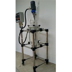 德阳双层玻璃反应釜、50升双层玻璃反应釜、汇升仪器图片
