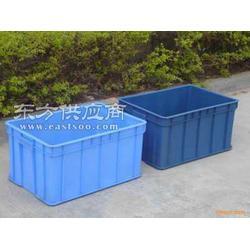 蓝色塑料箱子模具图片