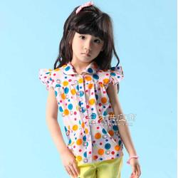 伟泰服饰夏季童装生产公司图片