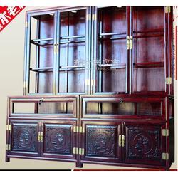 珠宝柜展柜实木展示柜中式古典货架货柜饰品柜玻璃柜柜台图片