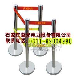 不锈钢带式伸缩围栏/安全防护隔离栏/电力专用栏图片