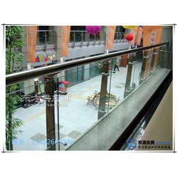玻璃栏杆 不锈钢钢化玻璃栏杆图片