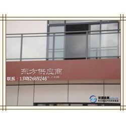 不锈钢玻璃护栏 户外组装式钢化玻璃护栏图片