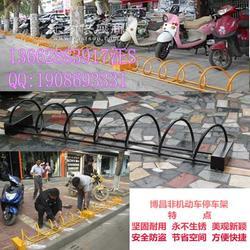 自行车停放架怎么使用图片