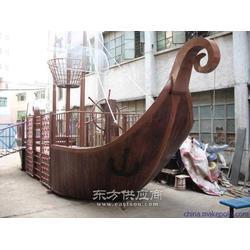 木制苏航牌道具船图片